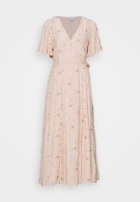 MABEL DRESS - Maxi dress - pink/gold