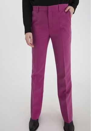 IXLEXI  - Trousers - fuchsia red