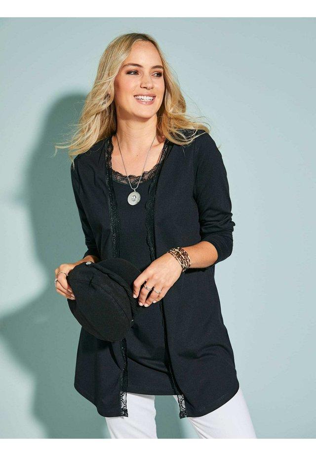 2-IN-1  - Long sleeved top - schwarz