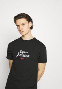 274 - CACTUS FLAME TEE - Print T-shirt - black - 2