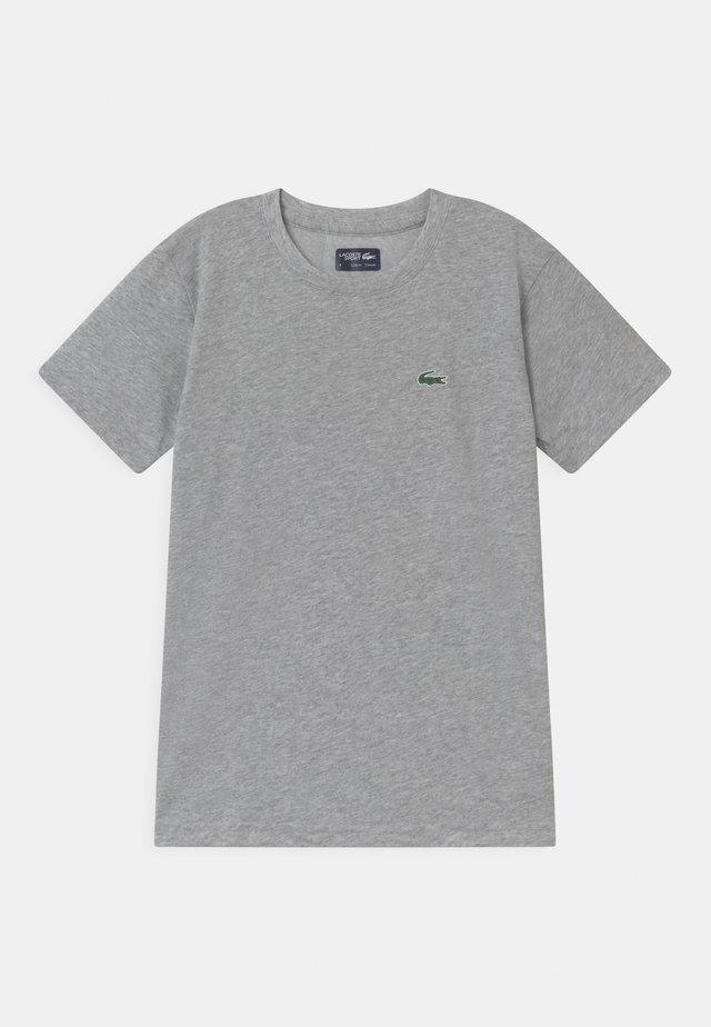 LOGO UNISEX - T-shirt basic - silver