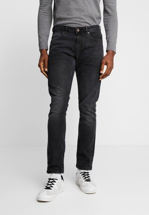 DOUGLAS - Straight leg jeans - black used