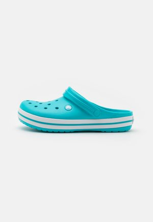 CROCBAND UNISEX - Clogs - digital aqua