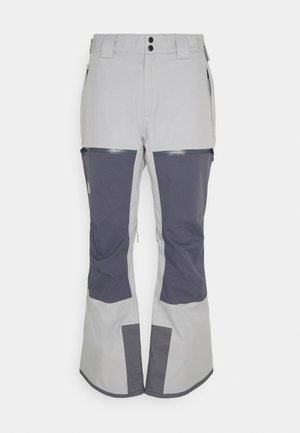 CHAKAL PANT - Snow pants - grey/light grey