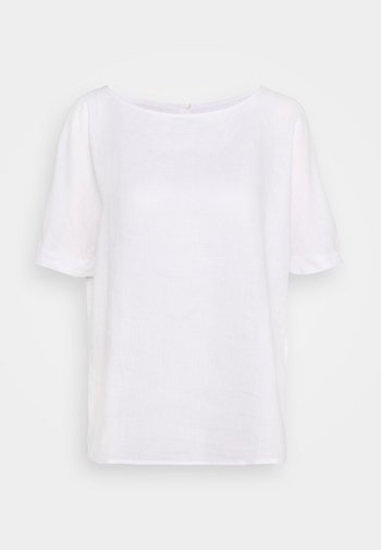 KURZARM - Blouse - white