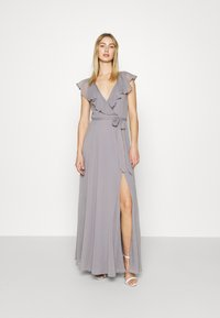 Nly by Nelly - DASHING FLOUNCE GOWN - Occasion wear - light grey - 0