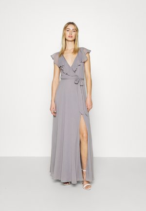 DASHING FLOUNCE GOWN - Occasion wear - light grey