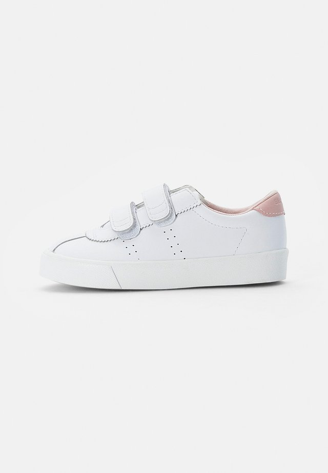 KIDS CLUB STRAPSACTION  - Sneakersy niskie - white-pink smoke