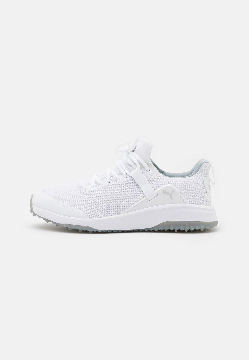 Puma Golf - FUSION EVO - Golf shoes - white/quarry