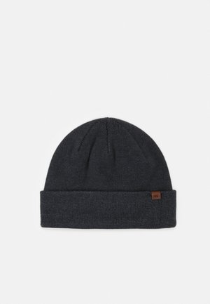 WILLES BEANIE UNISEX - Čepice - dark heather