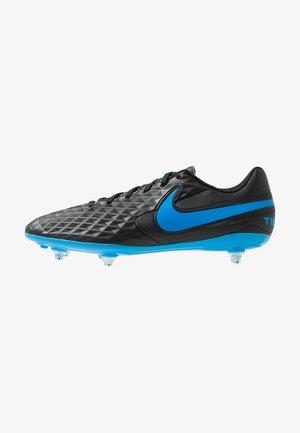 TIEMPO LEGEND 8 CLUB SG - Screw-in stud football boots - black/blue hero