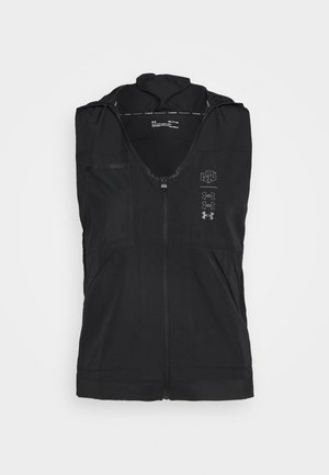 UA RUN ANYWHERE VEST - Weste - black