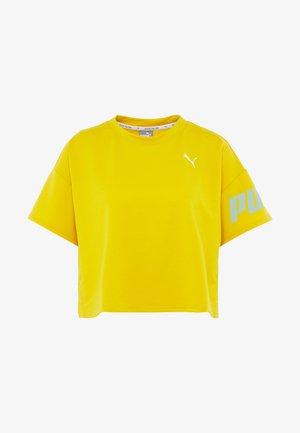 MODERN SPORT TEE - Print T-shirt - sulphur