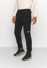 The North Face - GLACIER PANT - Spodnie treningowe - black - 0