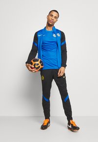 Nike Performance - INTER MAILAND DRY SUIT - Club wear - black/blue spark/tour yellow - 1