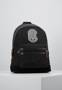 Coach - ACADEMY BACKPACK WITH PATCH - Reppu - black wild beast - 0