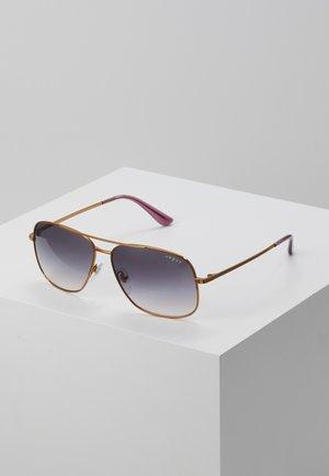 Okulary przeciwsłoneczne - gold-coloured/purple
