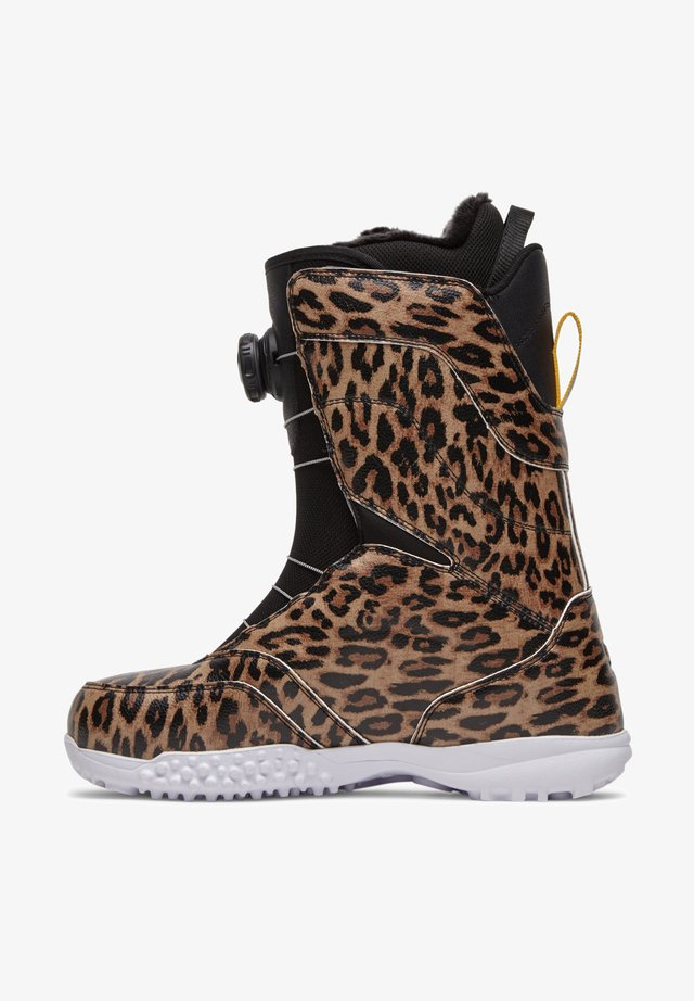 Snowboardschoen - leopard print