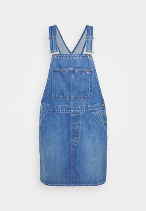 DUNGAR DRESS  - Denimové šaty - denim medium