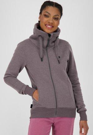 VIVIANAK  - Sweater met rits - mottled bordeaux