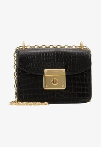 Lauren Ralph Lauren - CROSSBODY MINI - Skulderveske - black - 1