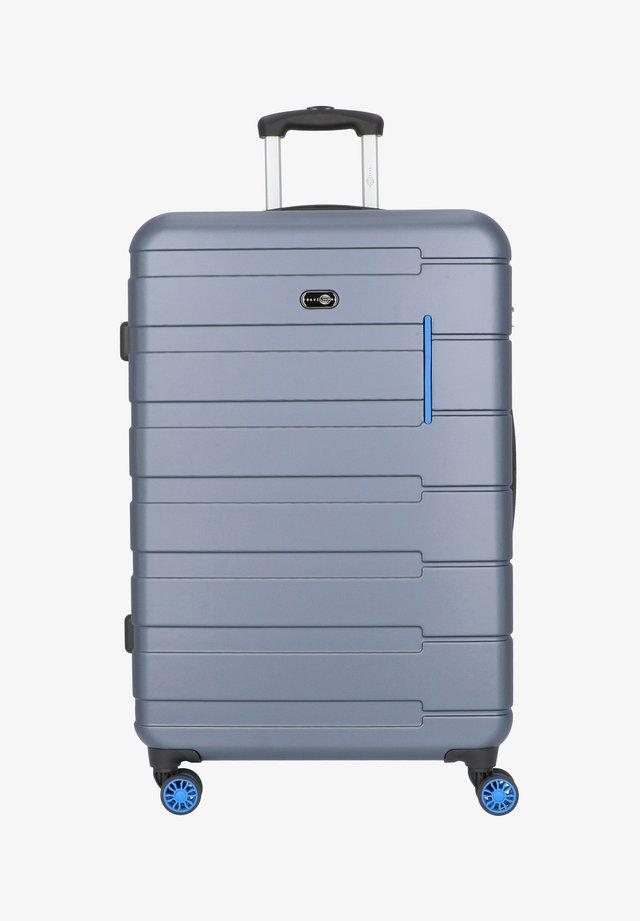 MÜNCHEN 4-ROLLEN TROLLEY 78 CM - Trolley - blau hellblau