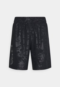 Under Armour - EMBOSS SHORTS - Korte sportsbukser - black - 0