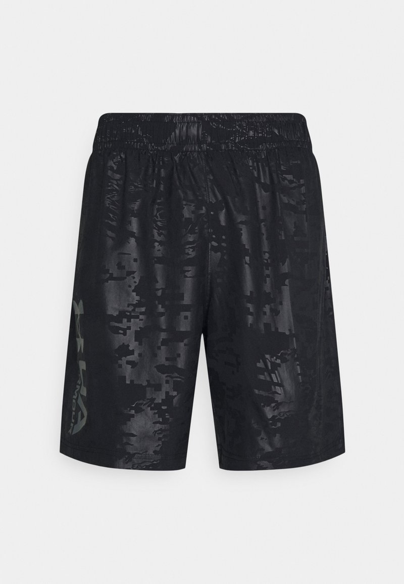 Under Armour - EMBOSS SHORTS - Korte sportsbukser - black