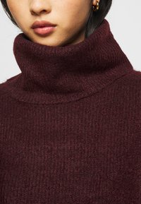 New Look Petite - FASH SLOUCHY ROLL NECK - Svetr - dark burgundy - 5