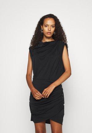 MANAIA - Jersey dress - black