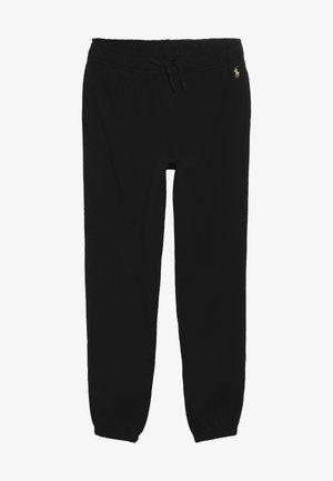 BOTTOMS PANT - Teplákové kalhoty - black