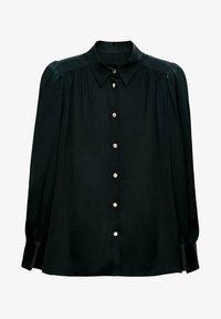 Uterqüe - Button-down blouse - green - 5