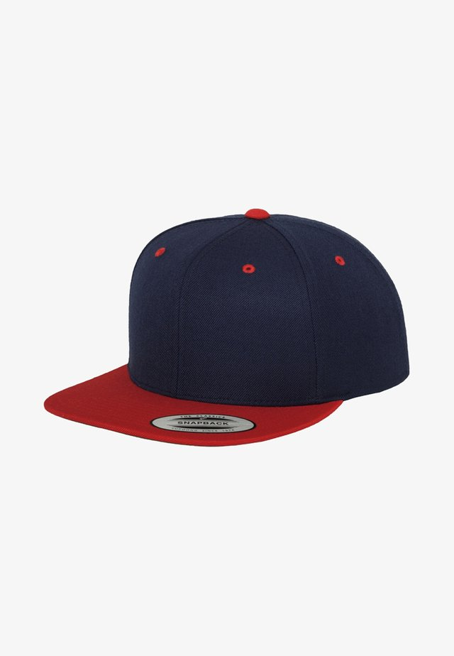 CLASSIC SNAPBACK 2-TONE - Casquette - navy/red