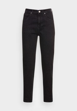 FREJA - Relaxed fit jeans - black marble