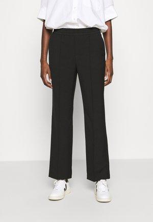 TROUSERS LARA - Trousers - black