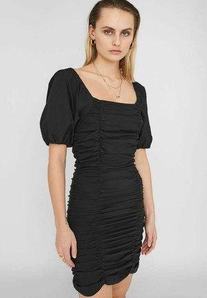 PUFFÄRMEL - Vestido de tubo - black