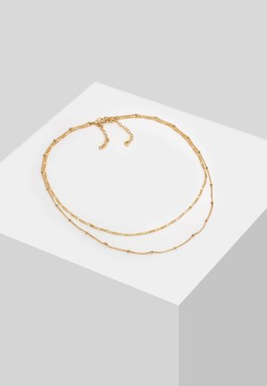 SET - Necklace - gold-coloured