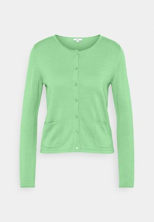 SMALL BUTTONED UP - Kardigan - soft leaf green