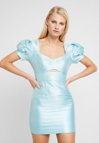 Mossman - THE SIREN MINI DRESS - Sukienka koktajlowa - powder blue - 0