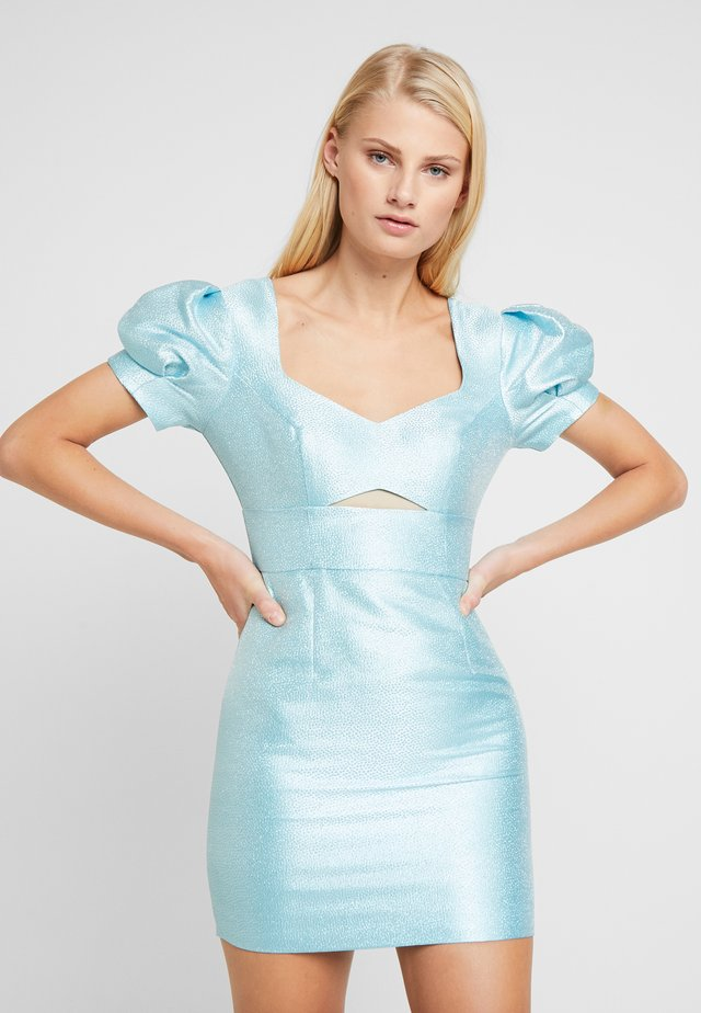 THE SIREN MINI DRESS - Juhlamekko - powder blue