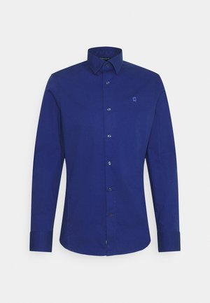 DRESSED SUPER SLIM SHIRT L\S - Overhemd - mai stretch poplin  blue