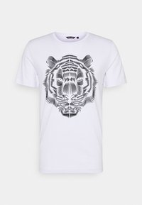 Antony Morato - SLIM FIT WITH DOUBLE LAYER - T-shirt print - bianco - 4