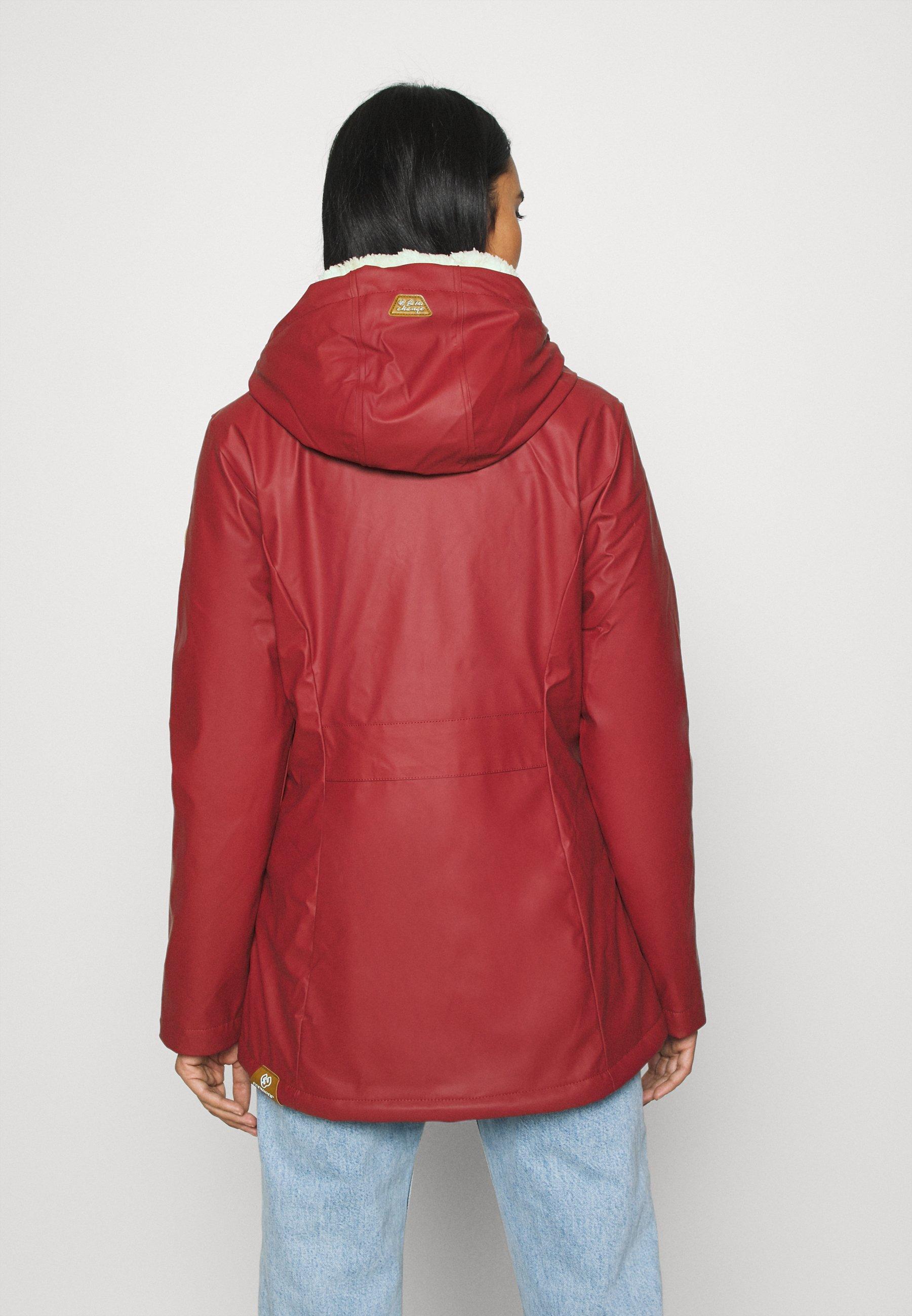 Ragwear MARGE Übergangsjacke red/rot