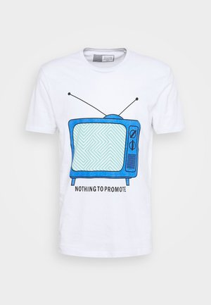 PROSPER - Print T-shirt - white