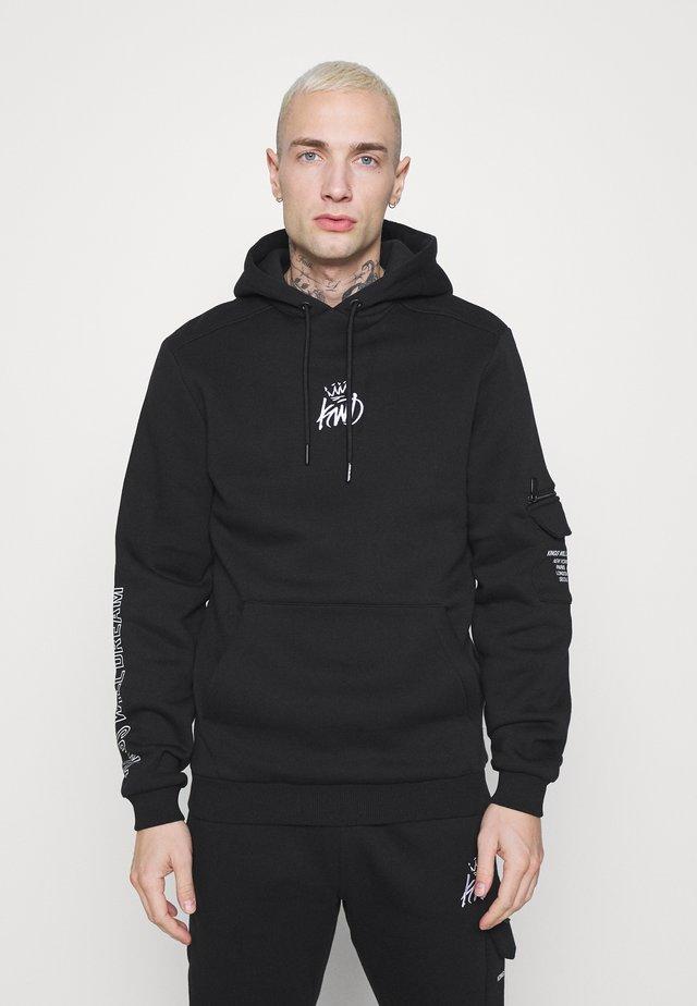 CARSO HOODIE - Sweatshirt - black