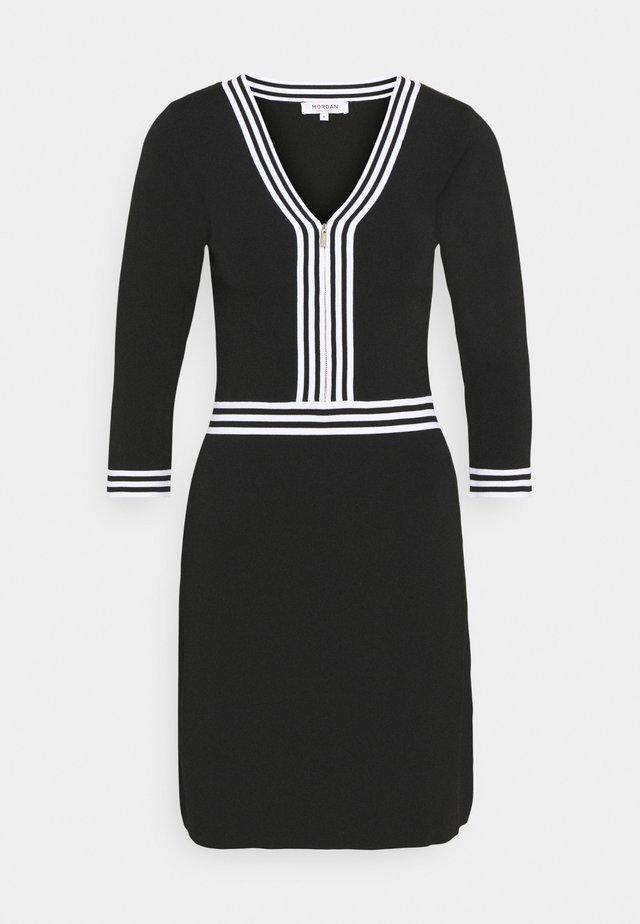 Etuikjoler - noir/off white