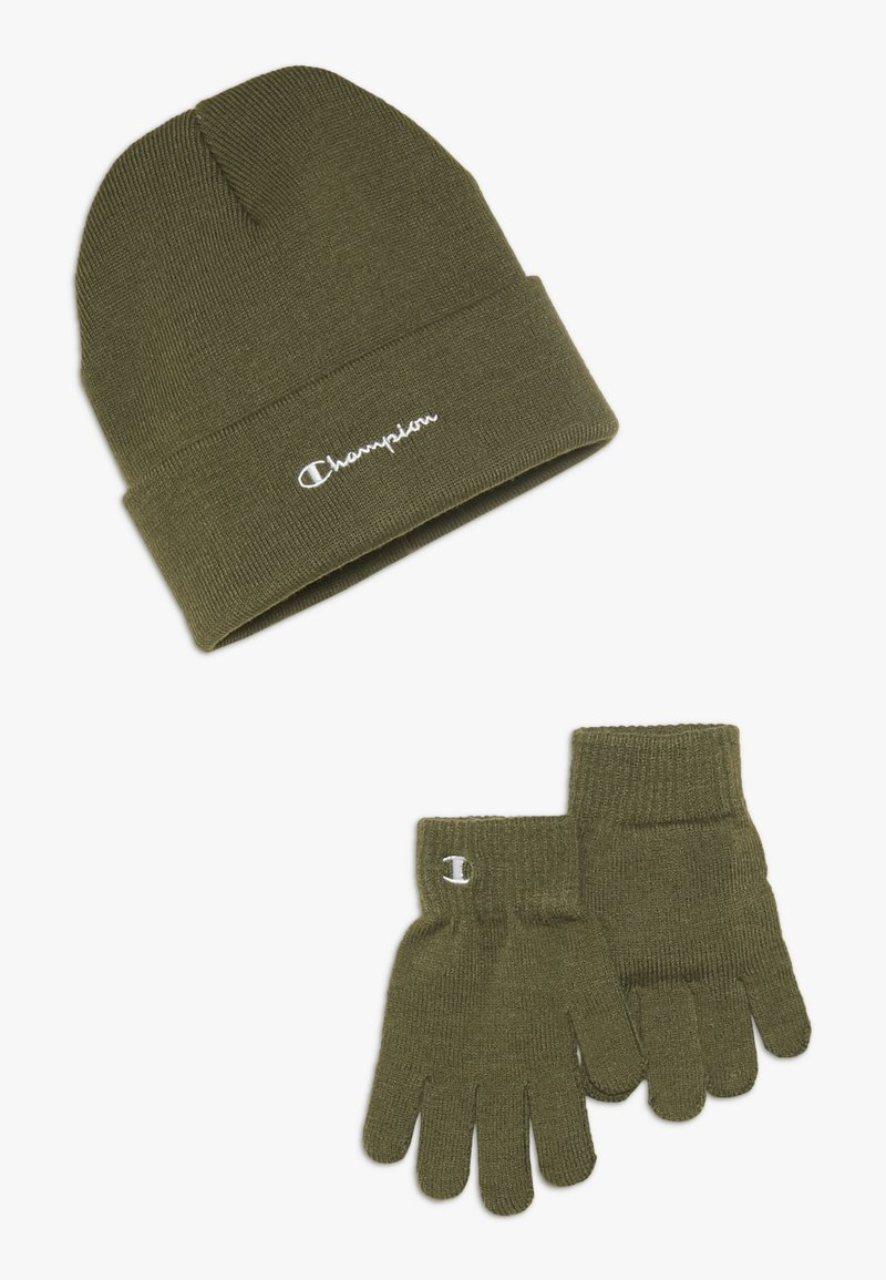Champion - BEANIE GLOVES SET  - Hansker - olive