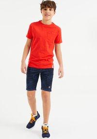 WE Fashion - Pantaloni sportivi - dark blue - 0