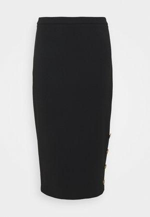 WOMEN'S SKIRT - Spódnica ołówkowa  - nero