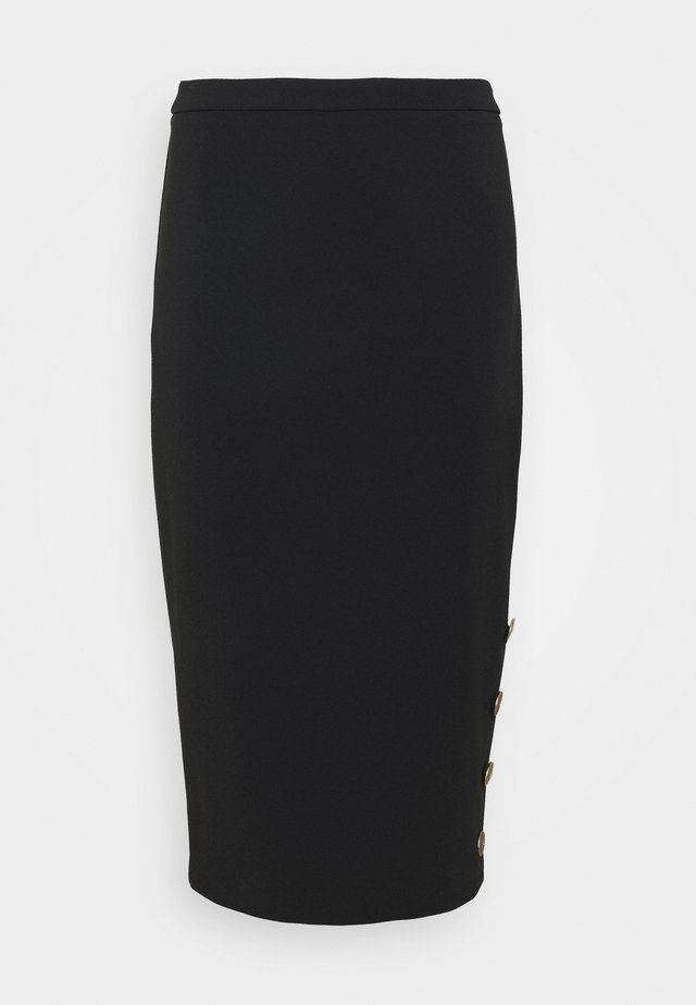 WOMEN'S SKIRT - Pencil skirt - nero